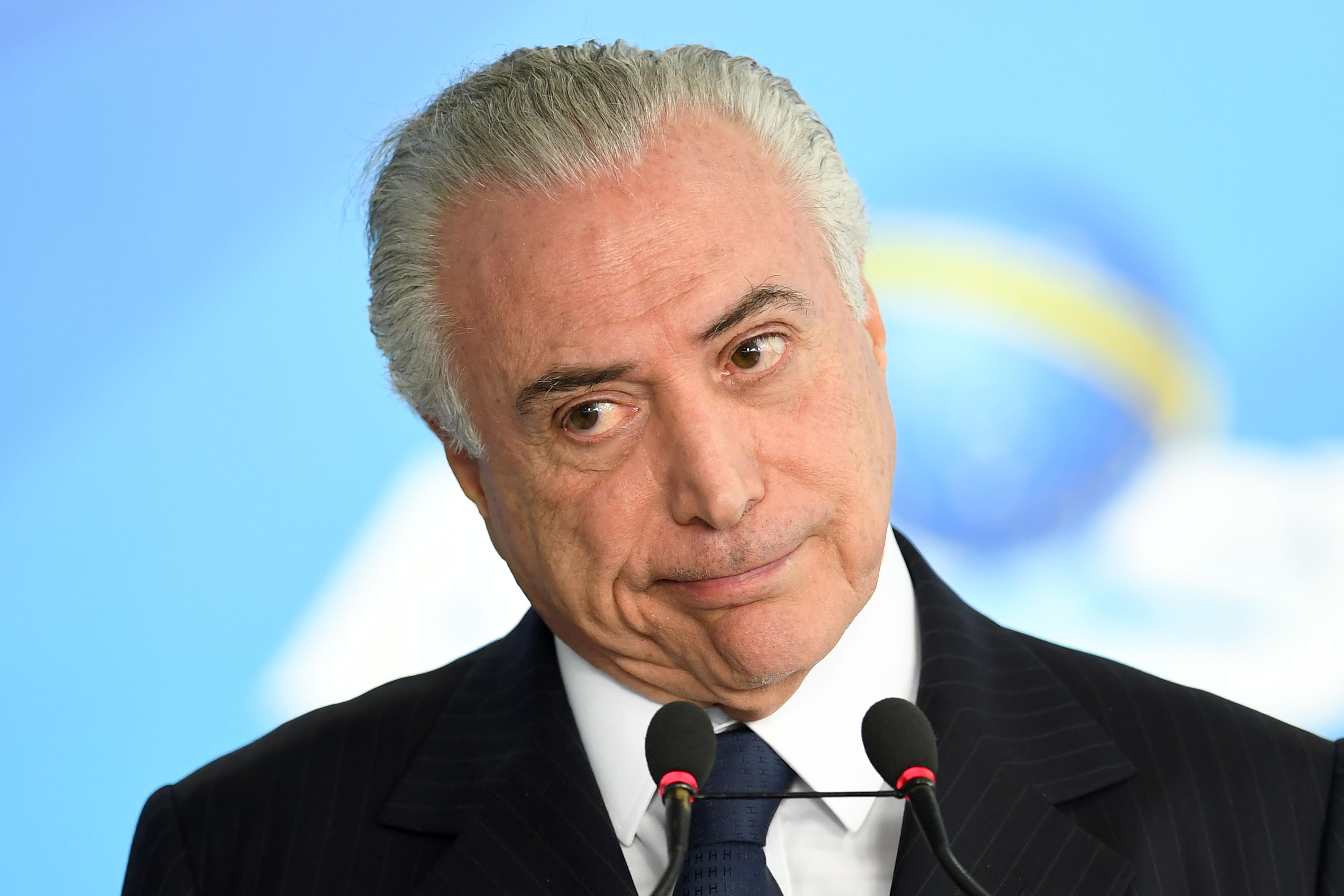 BRAZIL-CORRUPTION-TEMER