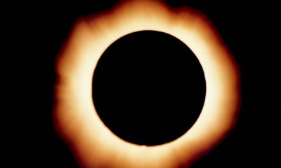 Image of the total eclipse of 1999 from Gmunden, Austria