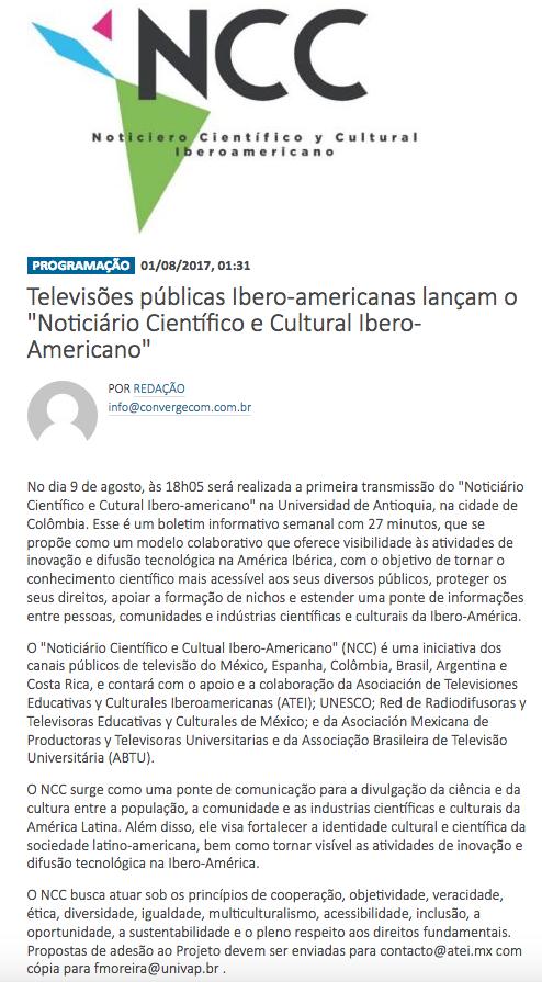 NCC en Brasil