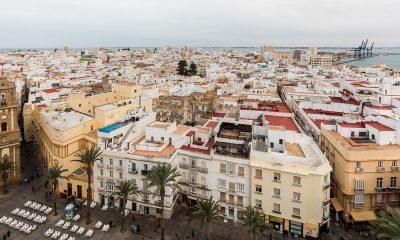 Vista de Cádiz, España
