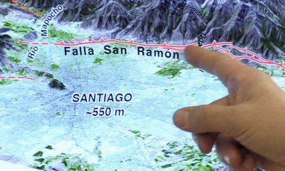 Chile vigila falla de San Ramón, amenaza sísmica de Santiago