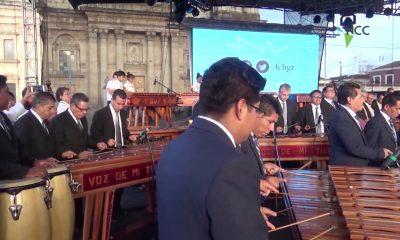 Guatemala vive al compás de la marimba