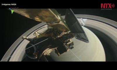 Sonda espacial Cassini termina 13 años de exploración a Saturno y sus lunas