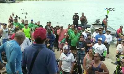 Cerca de 500 kilos de basura retirados de las aguas de La Guaira, Panamá