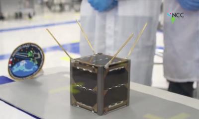 Costa Rica presenta el primer satélite espacial centroamericano