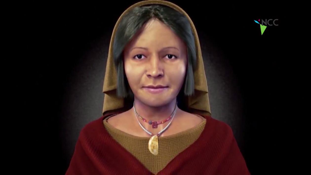 """Perú: Reconstrucción facial de la """"Dama de los Cuatro Tupus"""""""