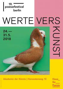 Festival Internacional de Poesía de Berlín, 2018
