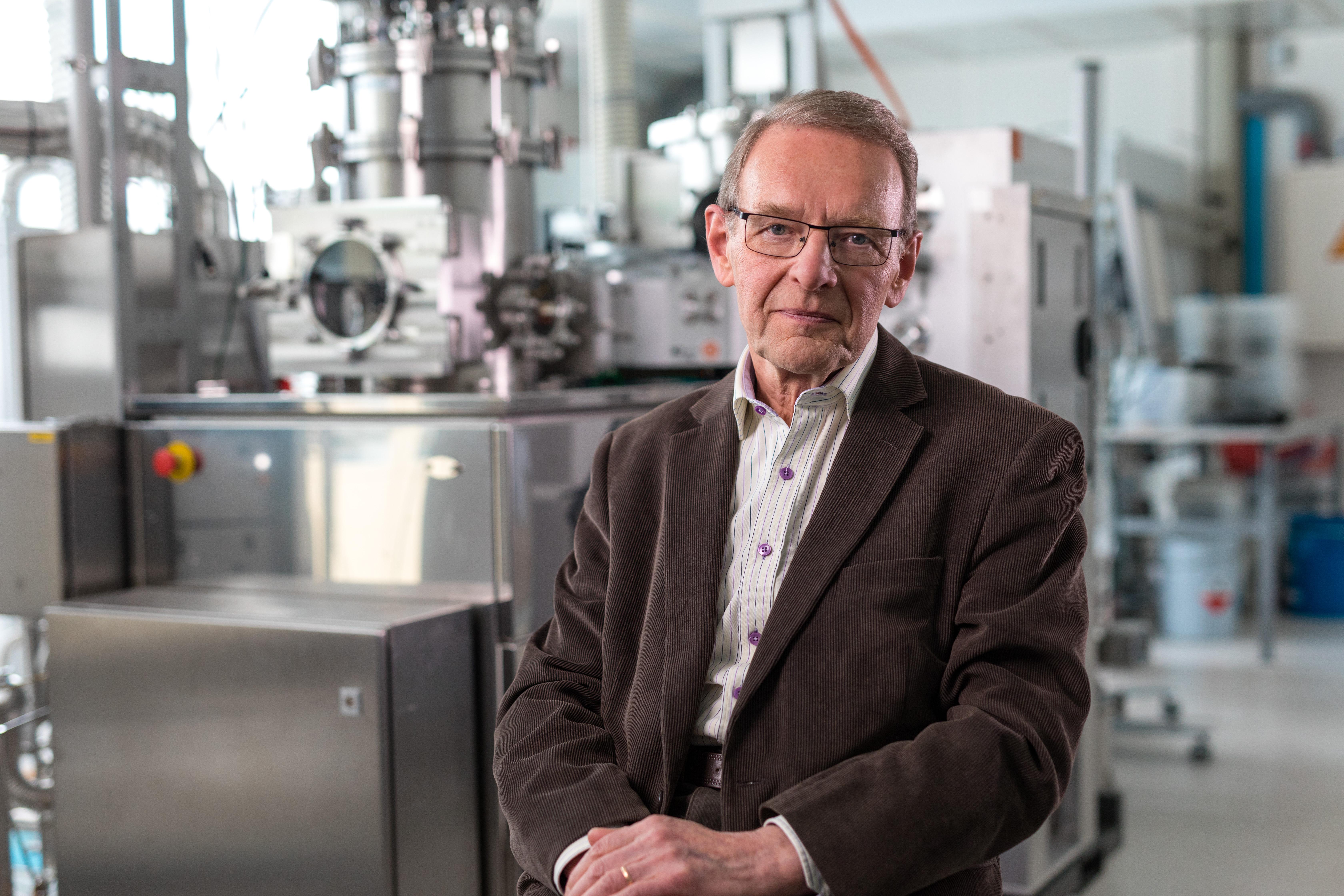 El físico finlandés Tuomo Suntola, ganador del Premio Millennium de Tecnología 2018. Foto: Academia de Tecnología de Finlandia (TAF)