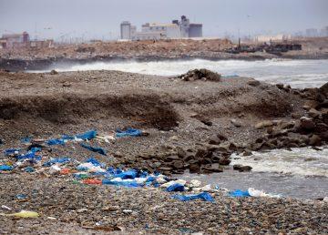 Contaminación en playas del Perú (Archivo - 2014)