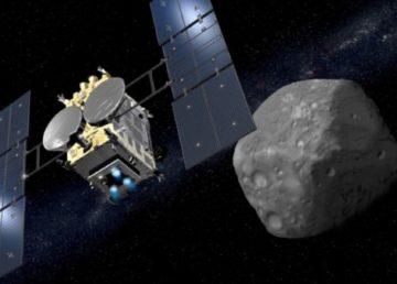 X Abrir el documento en una nueva ventana X Sonda japonesa se aproxima a un asteroide para estudiar el origen de la vida