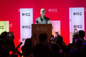 Conferencia de tecnología RISE en Hong Kong