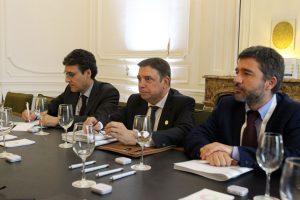 Encuentro entre los ministros de Agricultura de España y México en Buenos Aires
