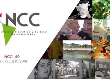 Noticiero Científico y Cultural Iberoamericano, emisión 49. 09 al 15 de julio 2018