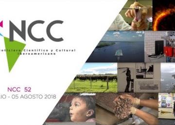 Noticiero Científico y Cultural Iberoamericano, emisión 52. 30 de julio al 05 de agosto 2018.