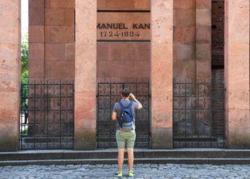 La tumba de Kant en Mundial 2018