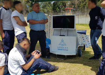 Gafas de realidad virtual y tabletas para mejorar la reinserción en A. Latina