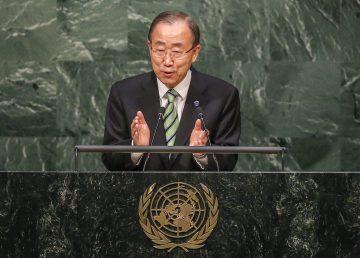ARRANCA EN LA ONU LA CEREMONIA DE FIRMA DEL ACUERDO DE PARÍS SOBRE CLIMA