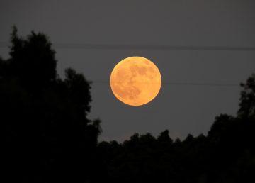 Eclipse lunar desde Israel