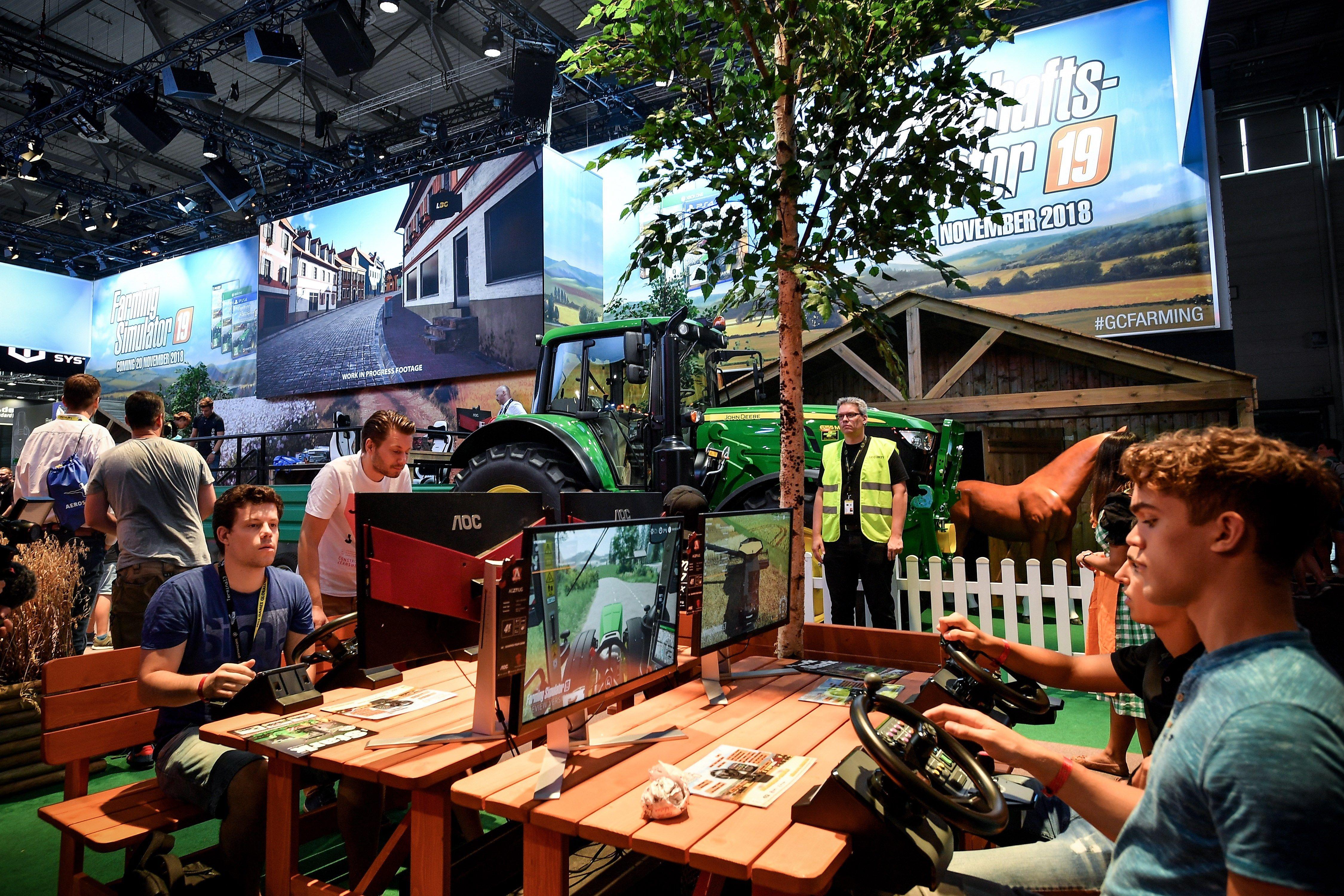Feria Gamescom en Colonia