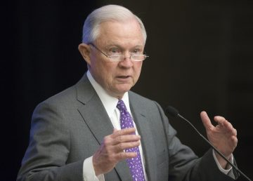 El Fiscal General de EE.UU. Jeff Sessions