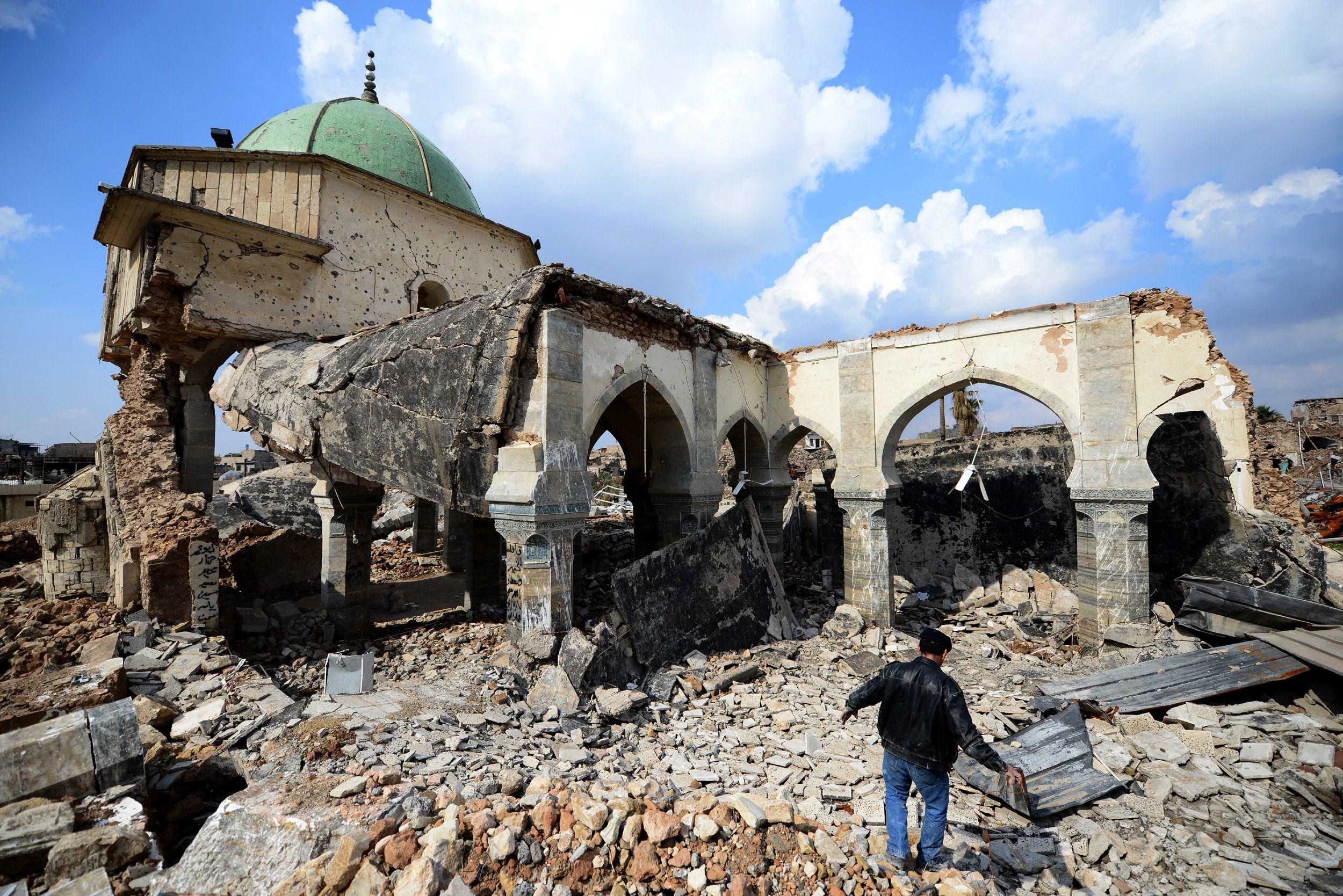 Destrucción de la Ciudad Vieja de Mosul