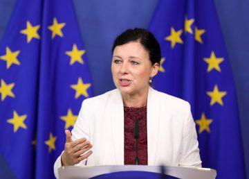 Rueda de prensa sobre la plataforma de alquileres privados vacacionales Airbnb en la Comisión de la UE