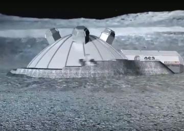Desarrollan Habitats con falso polvo lunar