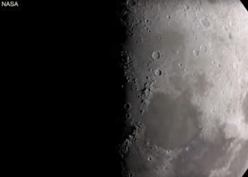 La NASA confirma hielo en polos de la Luna