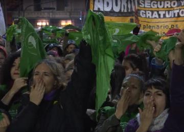 Pañuelo verde, símbolo argentino