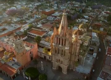 San Miguel de Allende, en México, Capital Americana de la Cultura 2019
