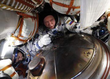 KAZAJSTÁN-ESPACIO-ISS-RUSIA-US-ATERRIZAJE