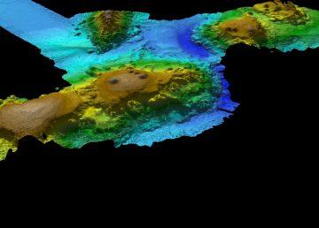 Expedición descubre cadena de montañas submarina en el sur de Australia
