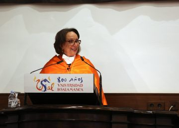 Rebeca Grynspan recibe el Doctor Honoris Causa por la USAL
