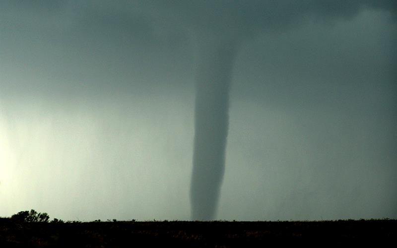 La frecuencia de los tornados varía y puede ser por el cambio climático