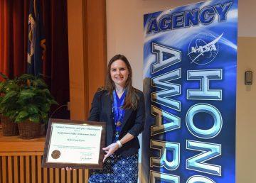 """Española premiada por la NASA agradece que su trabajo tenga """"un impacto real"""""""