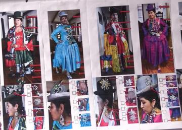 """Las """"cholitas"""" bolivianas desfilarán en París"""