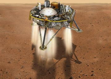 """InSight llega a Marte para """"conocer el corazón"""" del planeta rojo"""