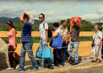 ONU constata crisis migratoria Venezuela