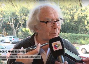 """Pérez Esquivel: """"pasar la palabra a los jóvenes"""""""