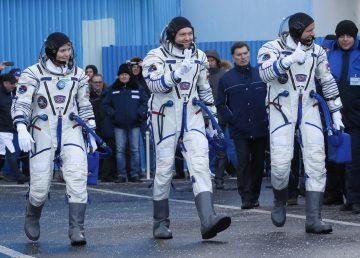 La Soyuz MS-11 se acopla a la Estación Espacial Internacional