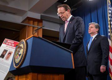 EEUU acusa a agentes de la inteligencia china por intento de hackeo