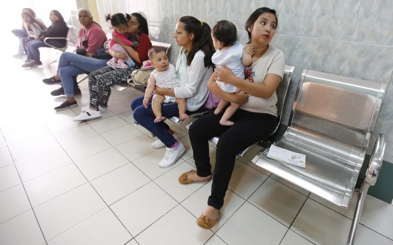 Seis de cada diez niños sufren desnutrición en Ecuador