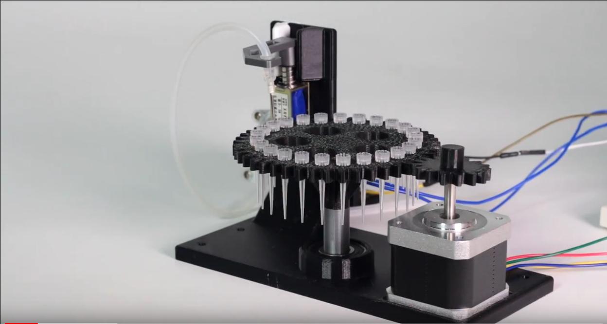 Printeria, impresión en el ADN de las bacterias