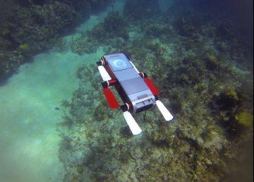 Suman robot submarino a la protección de arrecifes