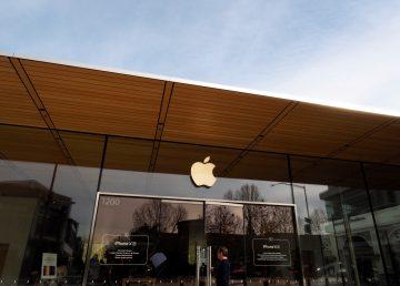 Las ganancias de Apple caen en el primer trimestre