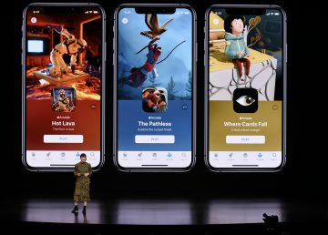 El gigante tecnológico lanza su servicio de videojuegos, Apple Arcade