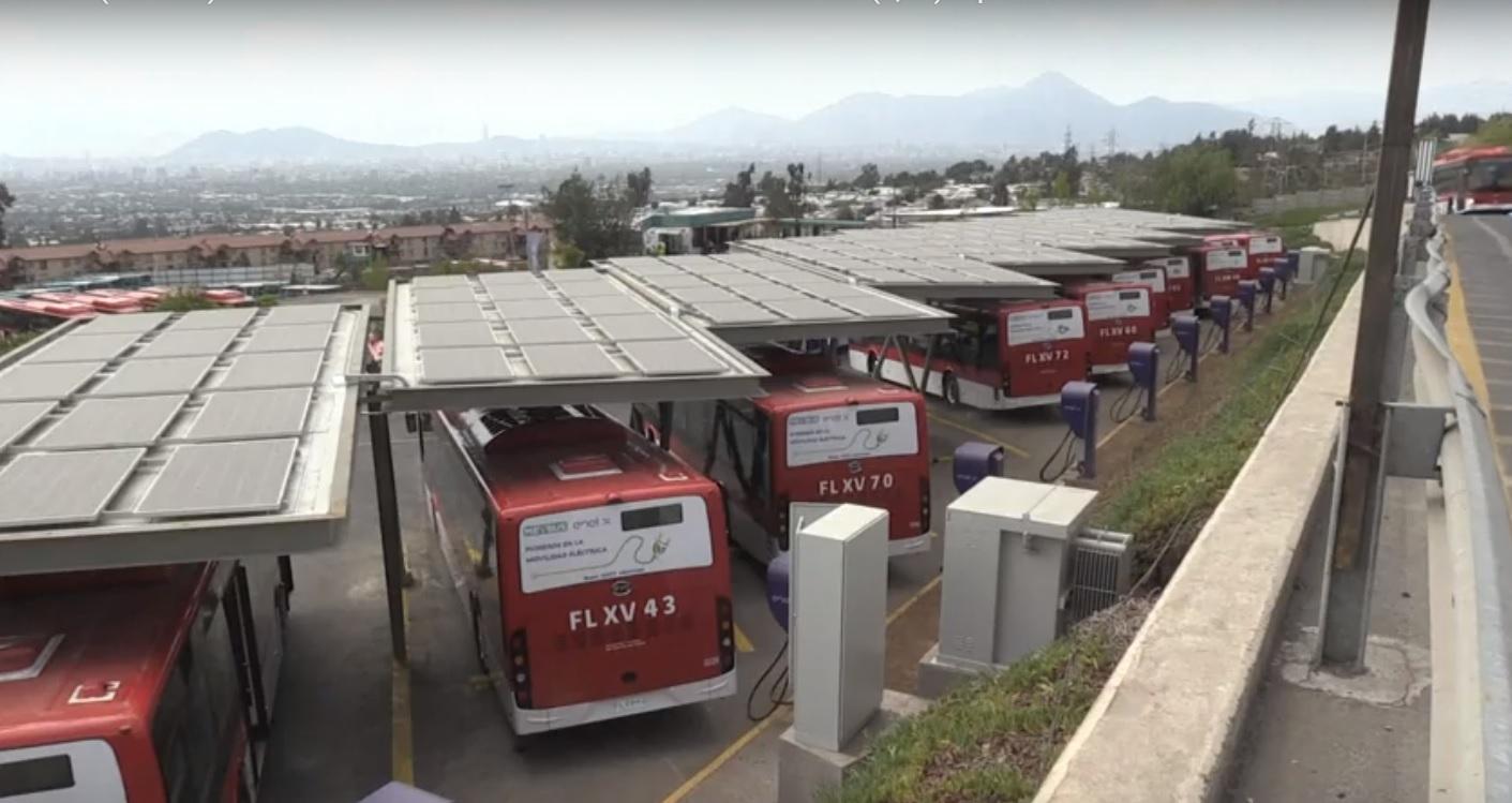 Autobuses eléctricos.