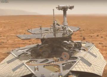 La NASA celebra los primeros 15 años de haber pisado la superficie de Marte