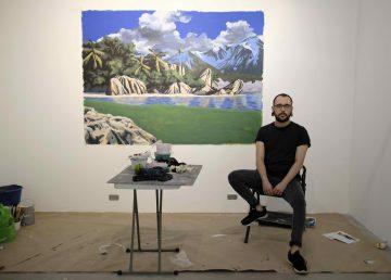 Artista costarricense destaca los paisajes que pasan desapercibidos