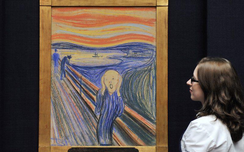 """La figura de """"El Grito"""" de Munch no grita y podría inspirarse en una momia"""